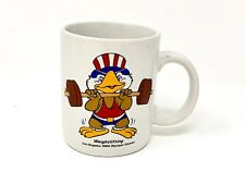 1984 Team Usa Olympics Wrestling Coffee Mug - Weighted, Tea, Sam Eagle, La
