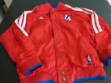 LOS ANGELES CLIPPERS Basketball ADIDAS Reversible Youth Size MEDIUM Jacket NBA