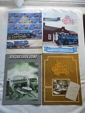THE TRAIN COLLECTORS QUARTERLY-(MAGAZINE)-FULL YEAR-1987-4 ISSUES