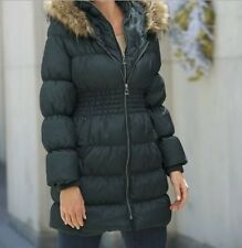 Women's Ouertwear Winter Quilted Down&Feather hooded  parka Jacket coat plus 2X