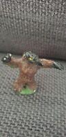 TSR - AD&D - Owlbear - 1980s Metal -  D&D monster miniatures painted green