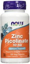 Now Foods, Zinc Picolinate - 50mg x120Vcaps