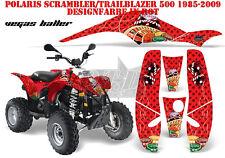 AMR Racing DECORO GRAPHIC KIT ATV POLARIS interferenzaNverso/Trailblazer Vegas pianto B