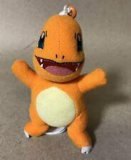 """2016 Tomy Pokemon Plush Charmander Keychain 4.5"""""""