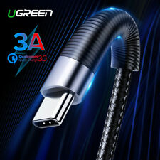 Ugreen USB Type C Cable 3A Fast Charge for Samsung LG Huawei Micro USB DataCable