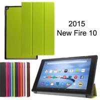 PU Leather Folding Magnetic Hard Case Cover Sleep/Wake For Amazon Kindle Tablet