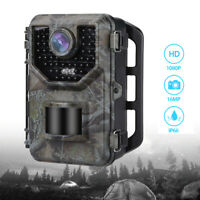 Boblov 16MP 1080P Hunting Trail Camera Night Vision Digital Infrared Photo Traps