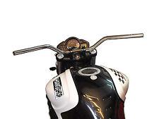 TRW Lucas Manubrio Superbike Comfort cromo con ABE per Kawasaki LUI-5 , ER5