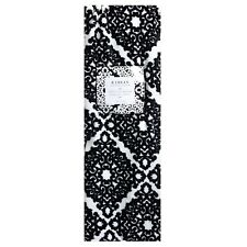 Black White Damask Medallion Scroll Throw Blanket NEW 50x70 Large! NWT