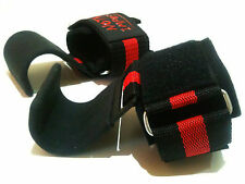 Power Hook Wrist Support Weightlifting Gym Straps Gloves Nothings Impossible