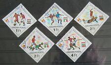 Briefmarken Motive Ungarn Fußball