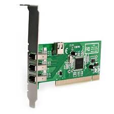 3 Port Firewire Card - Texas Instruments Chipset 1394a