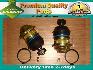 2 FRONT UPPER BALL JOINT SET FOR MITUBISHI L200 2WD 85-95 MIGHTY MAX 2WD 85-96