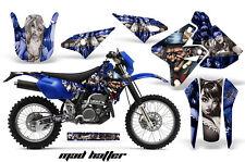 Kawasaki KLX400 Suzuki DRZ400 Graphics Kit Dirt Bike Wrap MX Decals 00-16 MAD SV