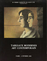 Livre catalogue de ventes  Drouot tableaux modernes art contemporain book