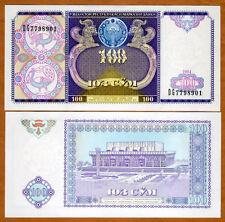 Uzbekistan, 100 Sum, 1994, P-79, UNC