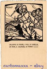 WW1 WWI Propaganda - Attilio - Salviamo la Madre,... - Formato Grande! - PV238