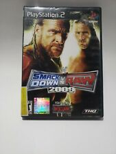 WWE SmackDown vs. Raw 2010 (Sony PlayStation 2, 2009) PS2 Complete with Manual