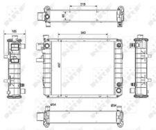 Kühler Wasserkühler Stapler Hyster H177 D177 XM Yale,  8504627