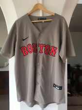 Nike boston red sox jersey Gray L Large
