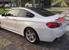 Painted BMW F32 4-series coupe performance type trunk spoiler color:354 @US