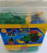 Morphun Educational Junior Building Bricks Set (300 Piece) Construction & Book
