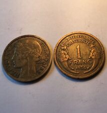 1 Franc Morlon Bronze-alu 1936