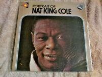A1 ONE LP  RECORD 33 1/3 RPM PORTRAIT OF NAT KING COLE