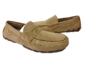 POLO RALPH LAUREN 80318712779J ARKLEY PENNY II Mn's (M)Cream Suede Loafer Shoes