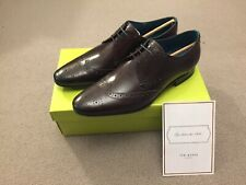 Ted Baker Men's Hosei Pointed Brogues, UK11, Brown New Minor Defect RRP £120