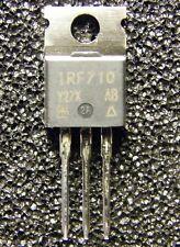 5x IRF710 N-Channel MOSFET 400V 2A 3,6Ohm 36W, Siliconix