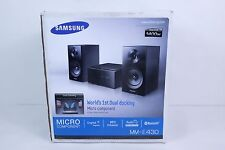 SAMSUNG MM-E430 MICRO COMPONENT DUAL DOCK FOR SAMSUNG GALAXY, iPHONE, iPOD