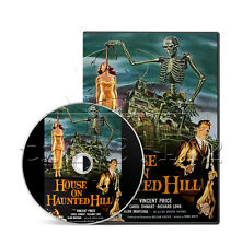 House on Haunted Hill (1959) Vincent Price, Carol Ohmart Horror Film/Movie DVD