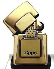 Zippo Lighter Limited Edition BRUSHED GOLDEN FLAME - Super rare ltd to only 500