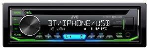 JVC KD-R992BT CD/MP3-Autoradio mit Bluetooth iPod AUX-IN USB - KD R992 BT