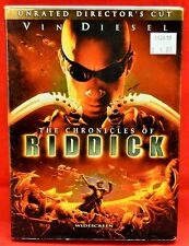 The Chronicles of Riddick Dvd PreViewed Clean Disc Directors Cut Widescreen 1953
