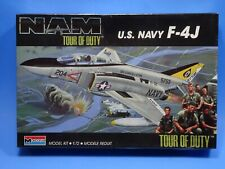 MONOGRAM VINTAGE US NAVY F-4J NAM TOUR OF DUTY  1/72 SEALED
