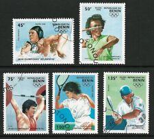 Benin 1995 - Atlanta Olympics (5) CTO