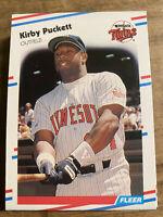 (35) 1988 Fleer Kirby Puckett Minnesota Twins #19 NM-MT+ Lot