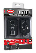 Hahnel Tuff TTL CANON Wireless Full eTTL Flash Trigger System - 2.4GHz - NEW UK