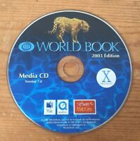 Homeschool World Book Ed Encyclopedia 2003 Media CD 7.0 or 7.2 Mac OS X CD