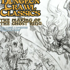 The Making of the GHOST RING — DCC #85 Lvl 4 — Goodman Dungeon Crawl Sketch Var