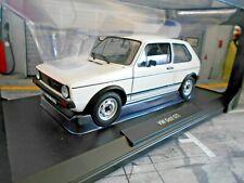 VW Volkswagen Golf 1 MKI GTI 3 Türer 1977 white weiss 188484 Norev NEU 1:18