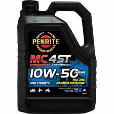 Penrite MC-4ST Semi Synthetic Motorcycle Oil 10W-50 4 Litre