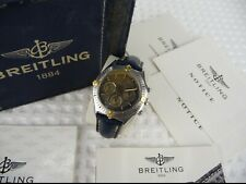 Breitling Callisto Automatic Chronograph B11045 Stahl / Gold Unisex