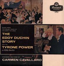 Tyrone Power-Vinyl LP-The Eddie Duchin Story-Brunswick-LAT 8119-65-VG/VG