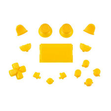 Sony PS4 Playstation 4 Full Button Set - Yellow