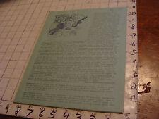 vintage Original SF Zine: LOCUS #49 Feb 23, 1970--Charlie & Dena Brown--20 pgs