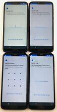 Lot of 4 Motorola G7 power XT1955-5 T-mobile Metro PCS  *Check IMEI* READ