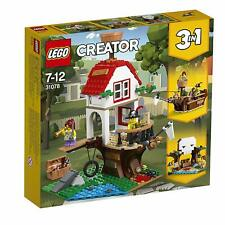 LEGO 31078 Creator 3-IN-1 Model Tree House Treasures Toy Ship And Cave Toy Set